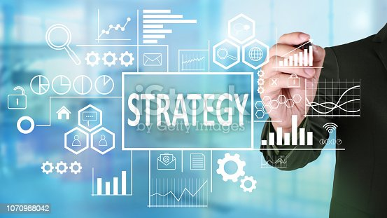 1027533352 istock photo Strategy in Business Concept 1070988042