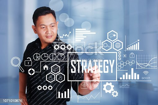 1027533352 istock photo Strategy in Business Concept 1071010874