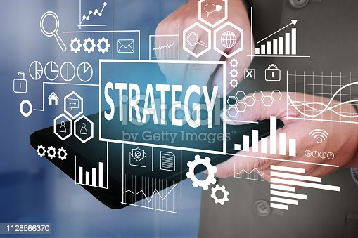 1027533352 istock photo Strategy in Business Concept 1128566370