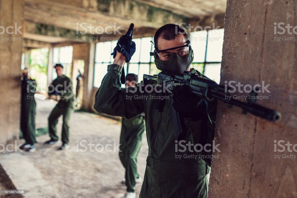 Strategy in warfare and businesses are the same stock photo