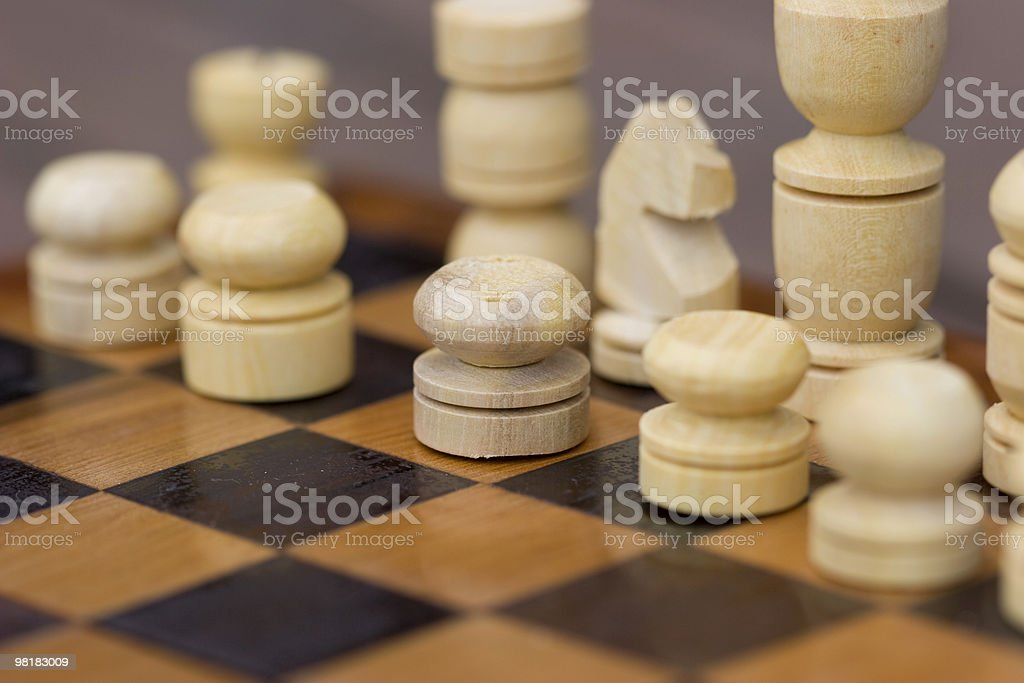 Strategy of game royalty-free stock photo