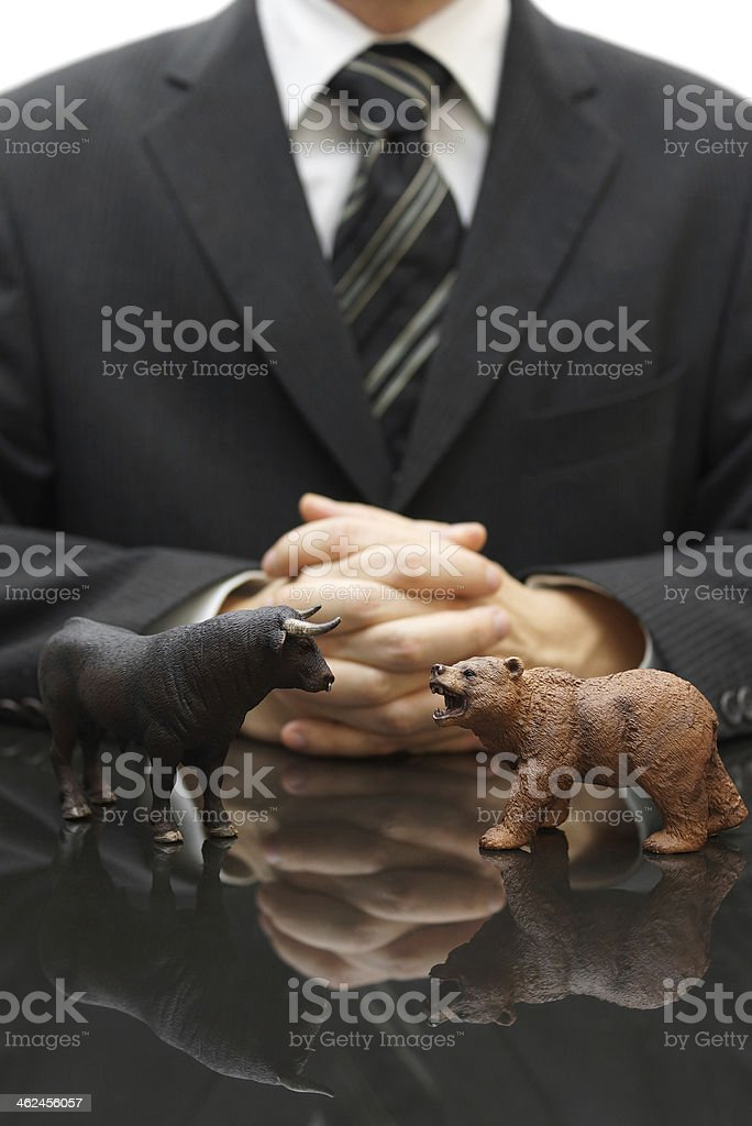 strategy of investing stock photo