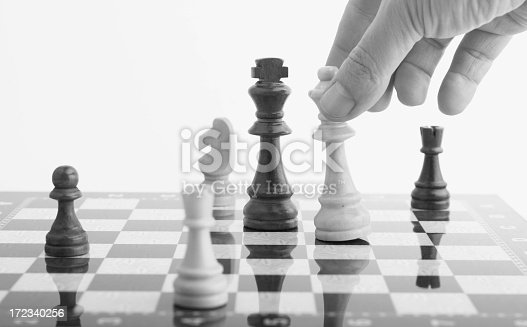 Strategy on chess board