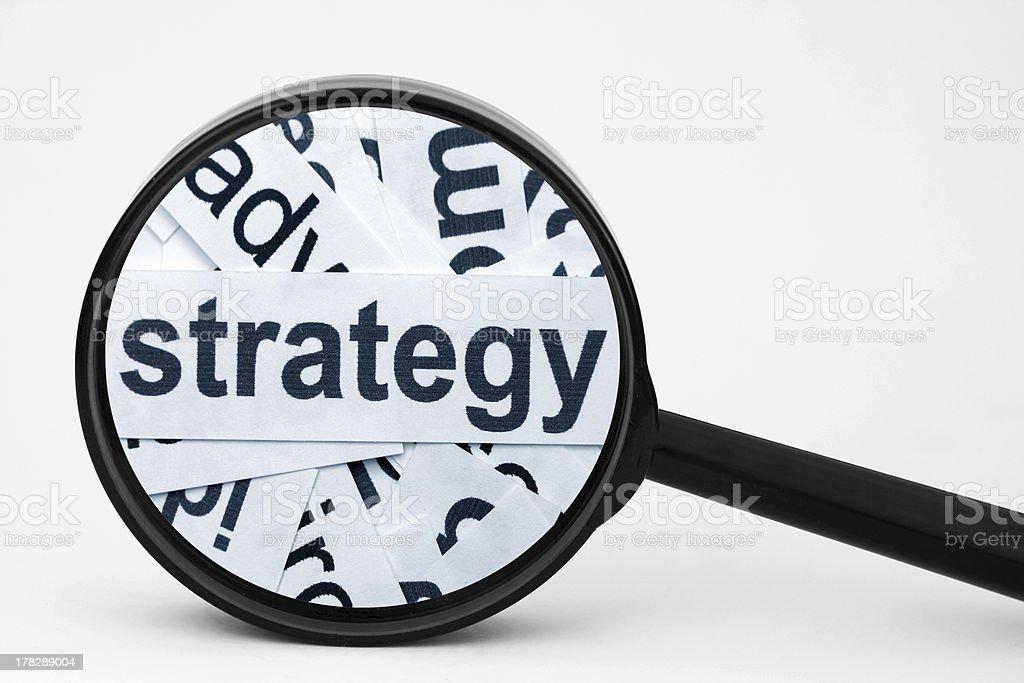 Strategy royalty-free stock photo
