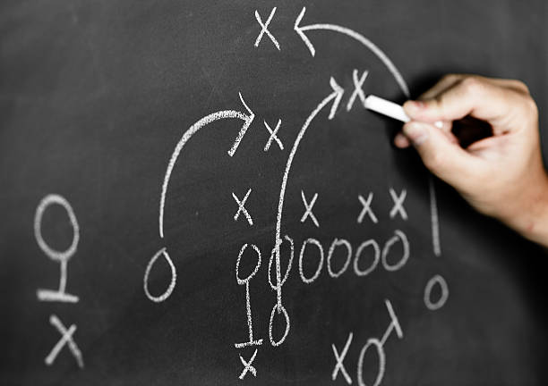Strategy plan stock photo