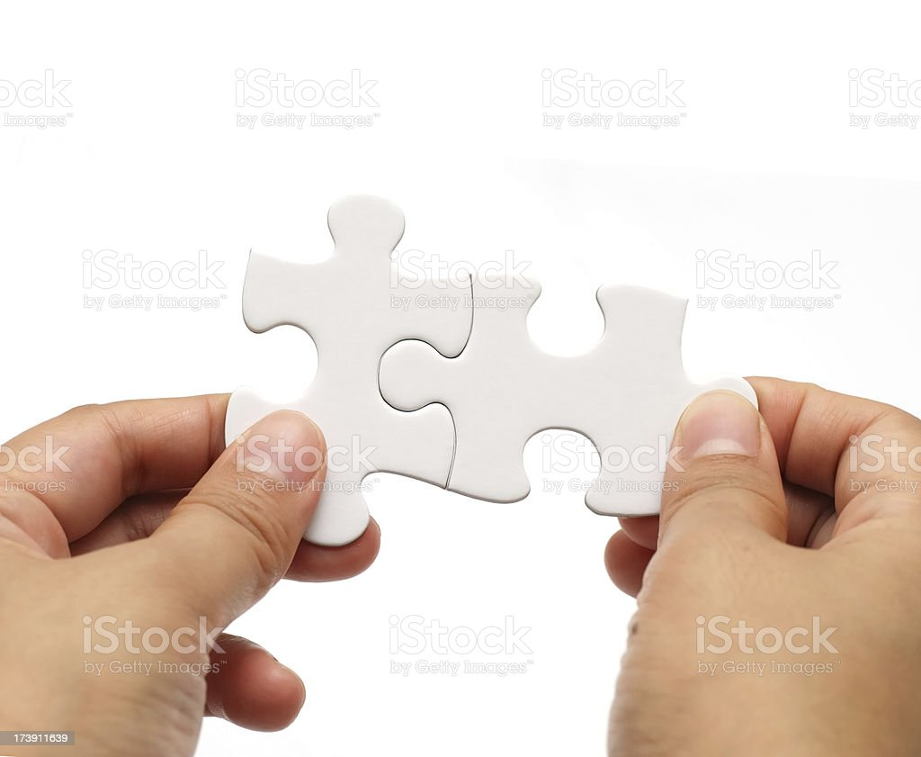 Strategy Puzzle B royalty-free stock photo
