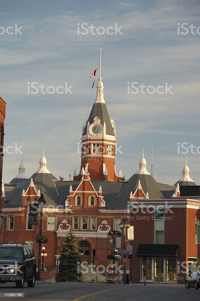 Stratford City Hall royalty-free stock photo