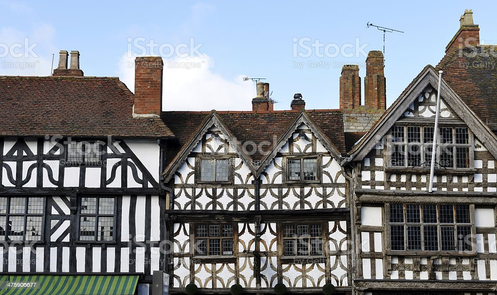 Stratford Gables stock photo