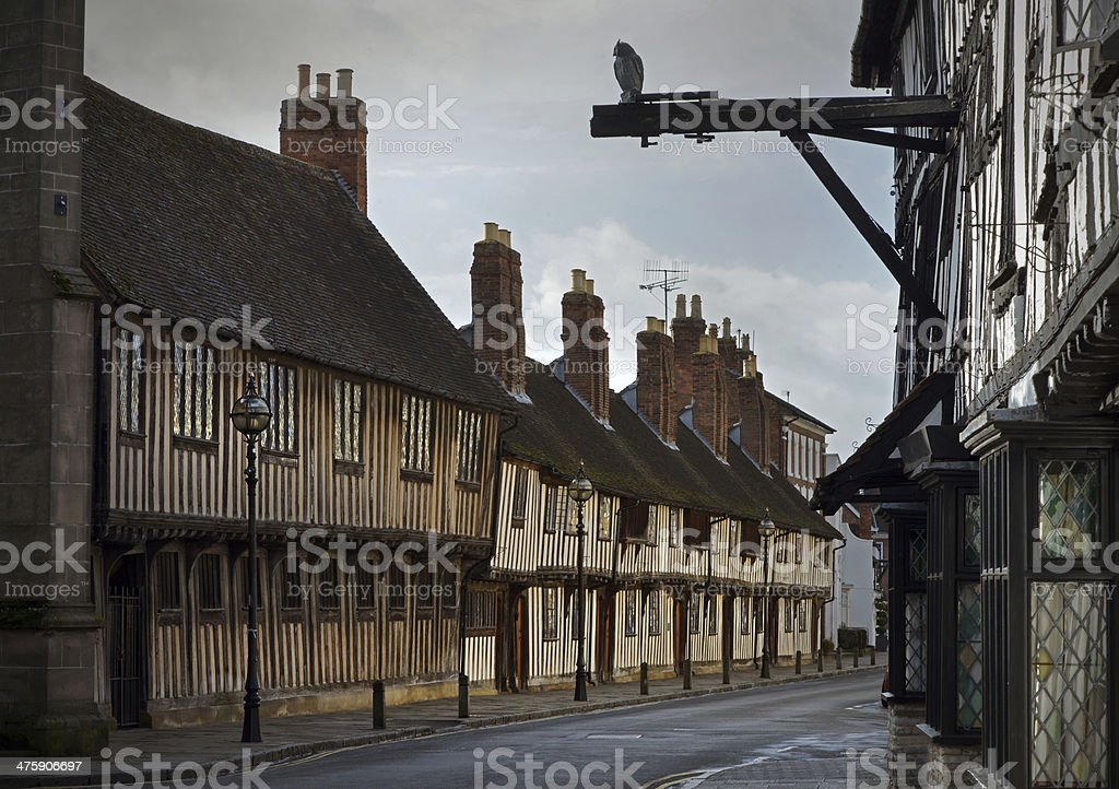 Stratford upon Avon royalty-free stock photo