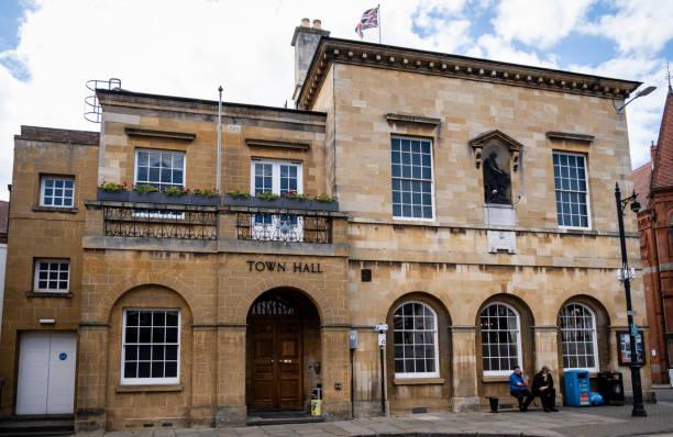 Stratford-upon-Avon Town Hall stock photo