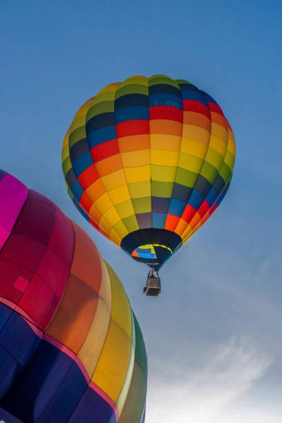 Festival voos de balão Strathaven - foto de acervo
