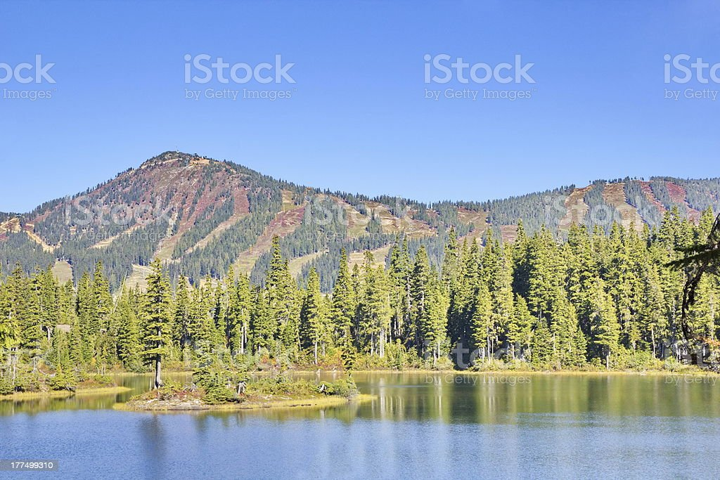 Strathcona Provincial Park Views royalty-free stock photo