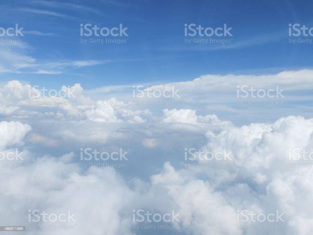 Stratocumulus Cloudscape stock photo
