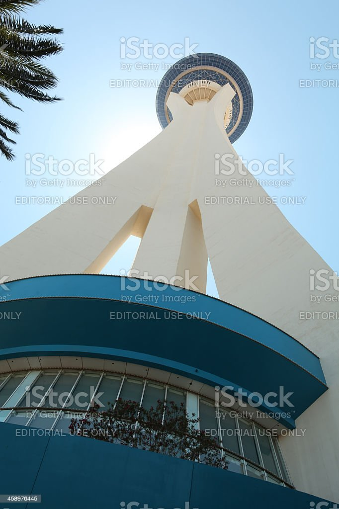 Stratosphere Hotel and Casino stock photo