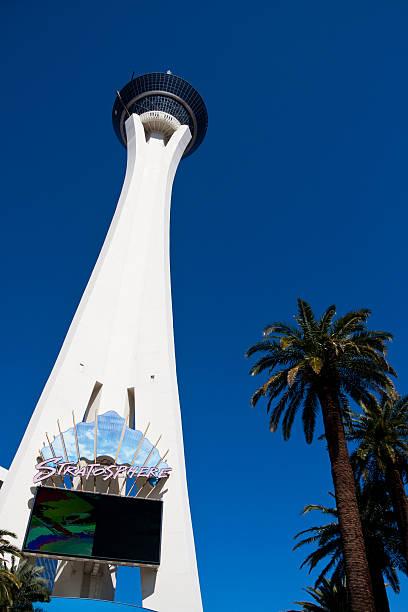 Stratosphere in Las Vegas stock photo
