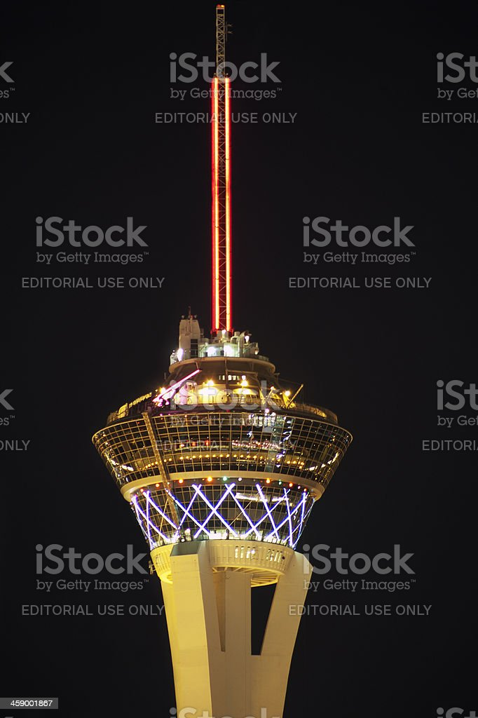 Stratosphere Tower royalty-free stock photo
