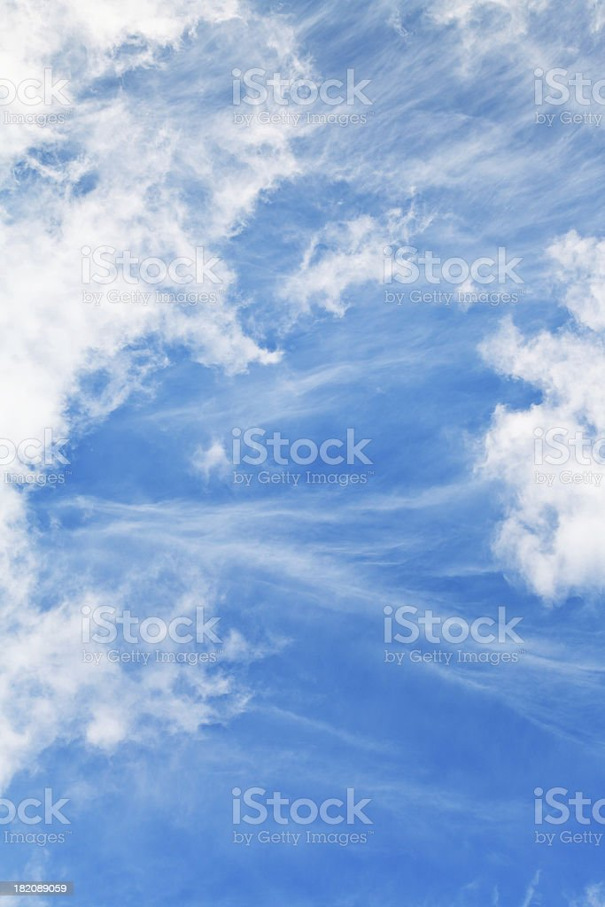 stratus clouds royalty-free stock photo