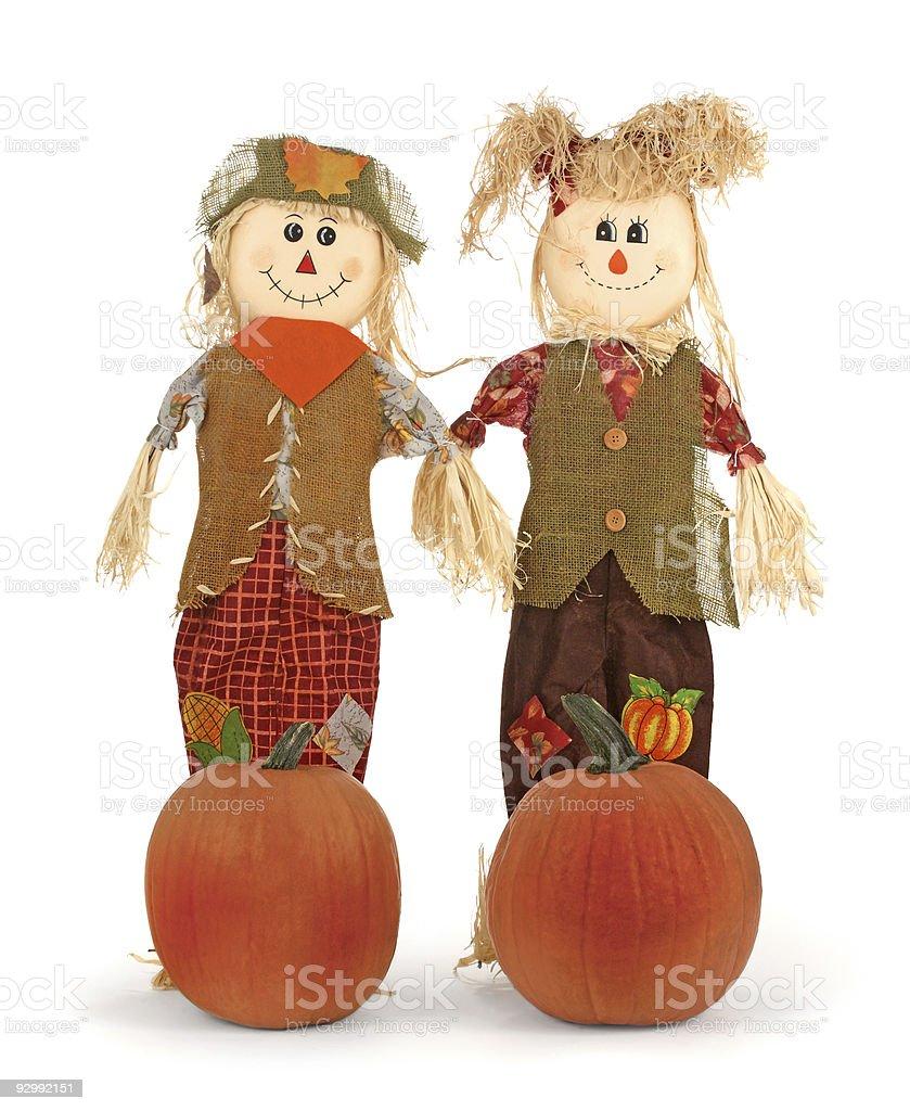 Bonecas de palha - foto de acervo