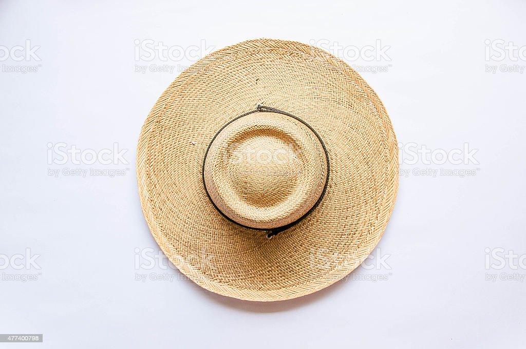 麦わら帽子/Straw Hat stock photo