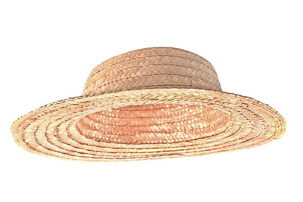 straw hat - halmslöjd bildbanksfoton och bilder