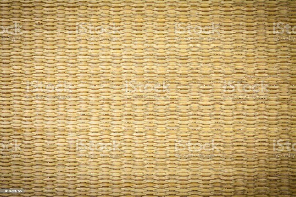 Straw Mat texture stock photo