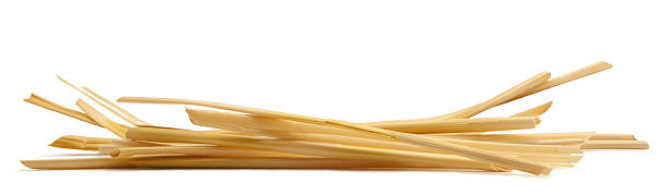 "Straw ""Small Pile of Straw, isolated on a white background."" hay stock pictures, royalty-free photos & images"