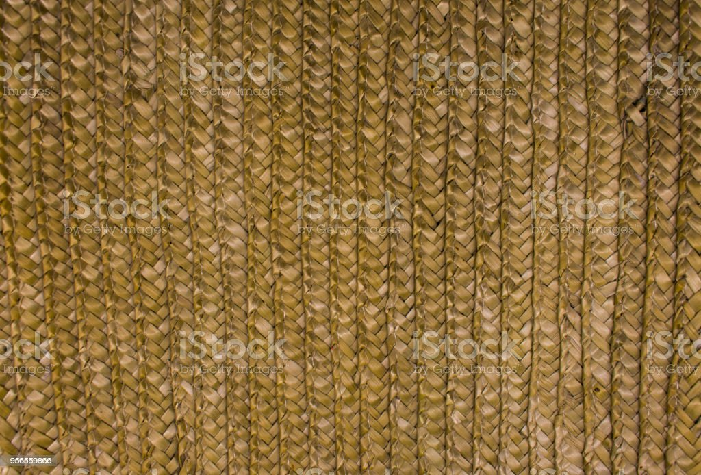 straw texture weave
