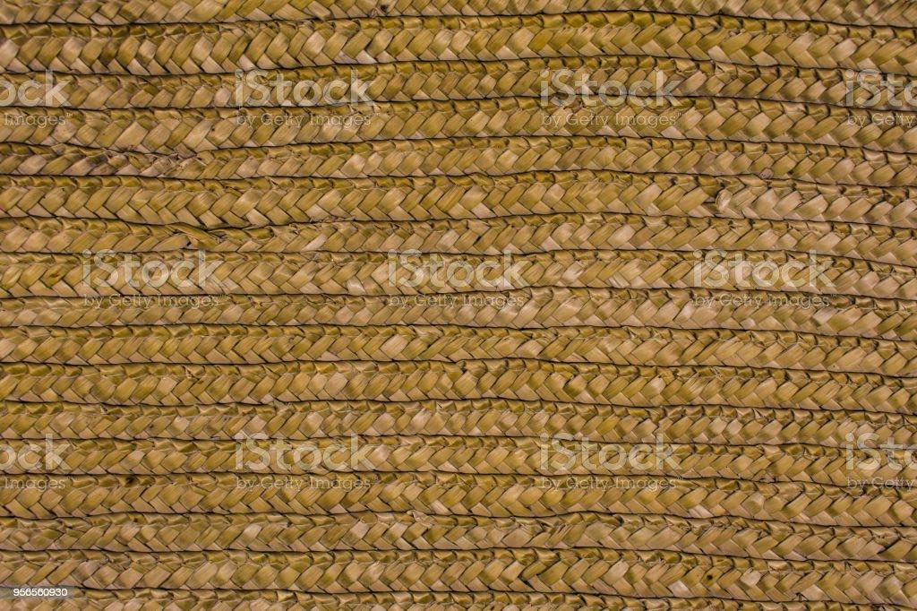 straw texture, weave