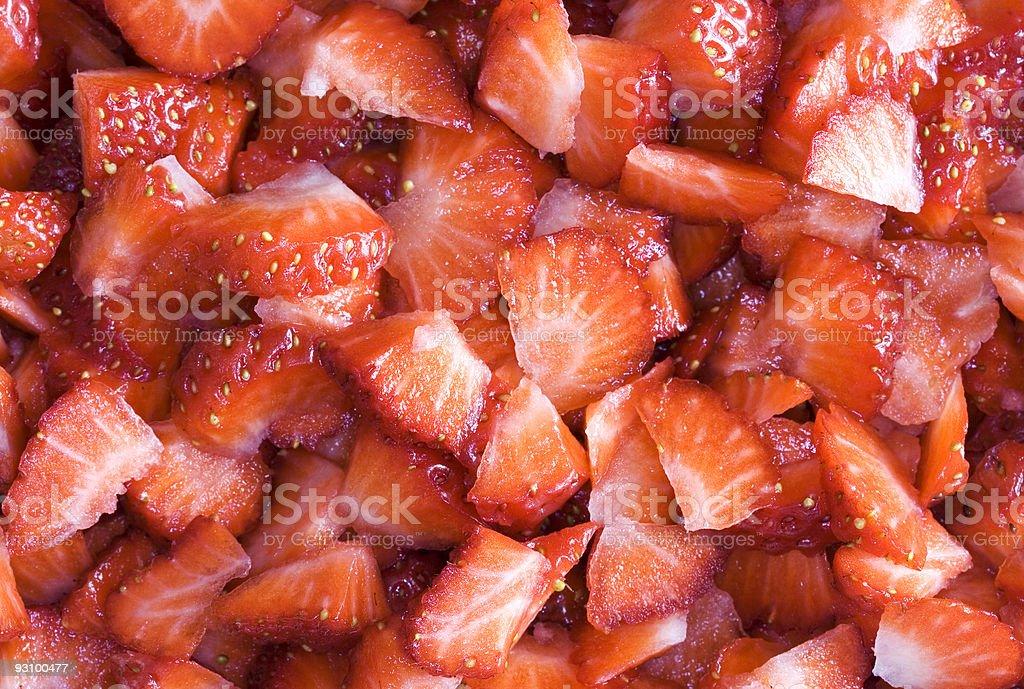 Strawberries background II royalty-free stock photo