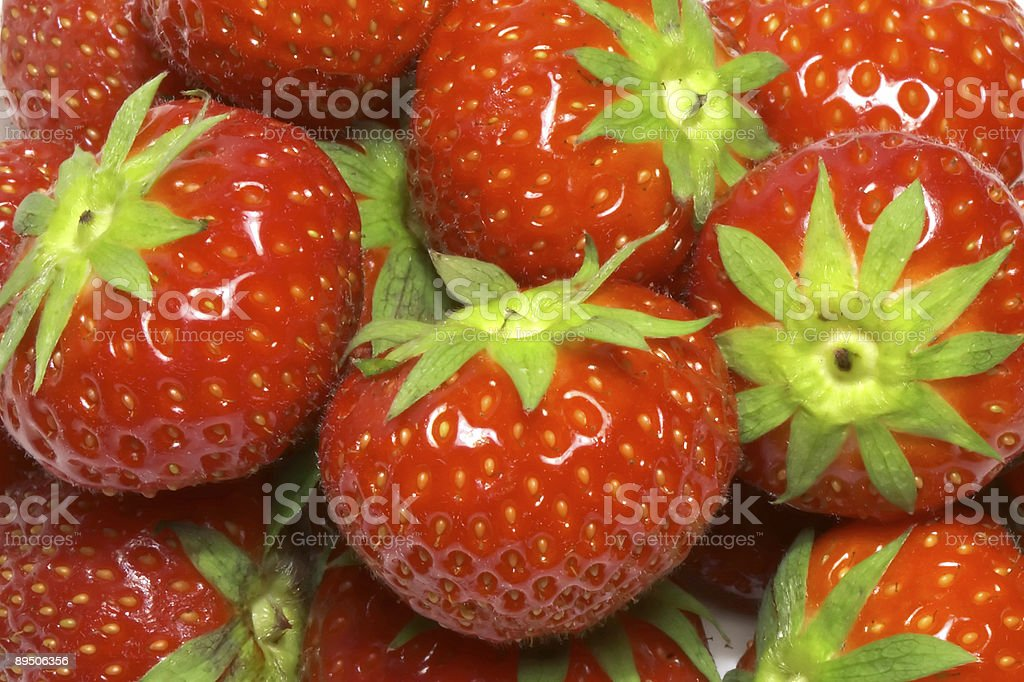 strawberries background royalty-free stock photo