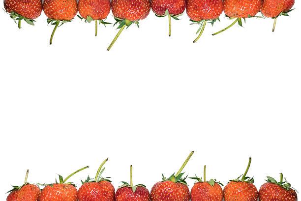 Royalty Free Strawberry Frame Pictures, Images and Stock Photos - iStock