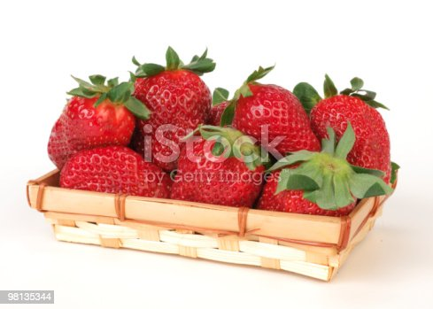 Fragole Nel Cestino Stock Photo & More Pictures of Color Image