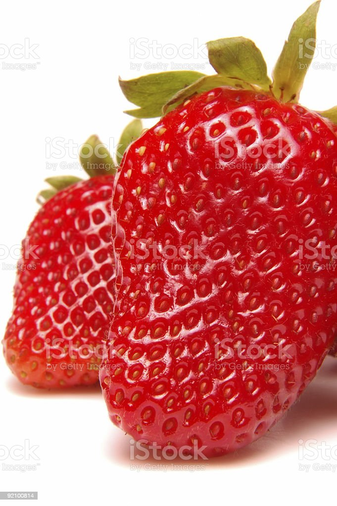 Strawberries - Macro 2 royalty-free stock photo