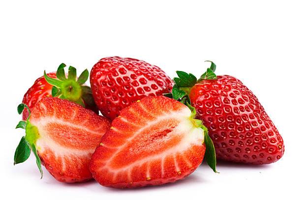 Strawberries on White foto