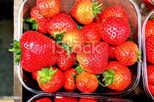 istock Strawberries. 1074178854
