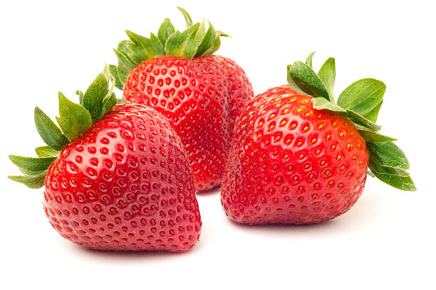 strawberries - aardbei stockfoto's en -beelden