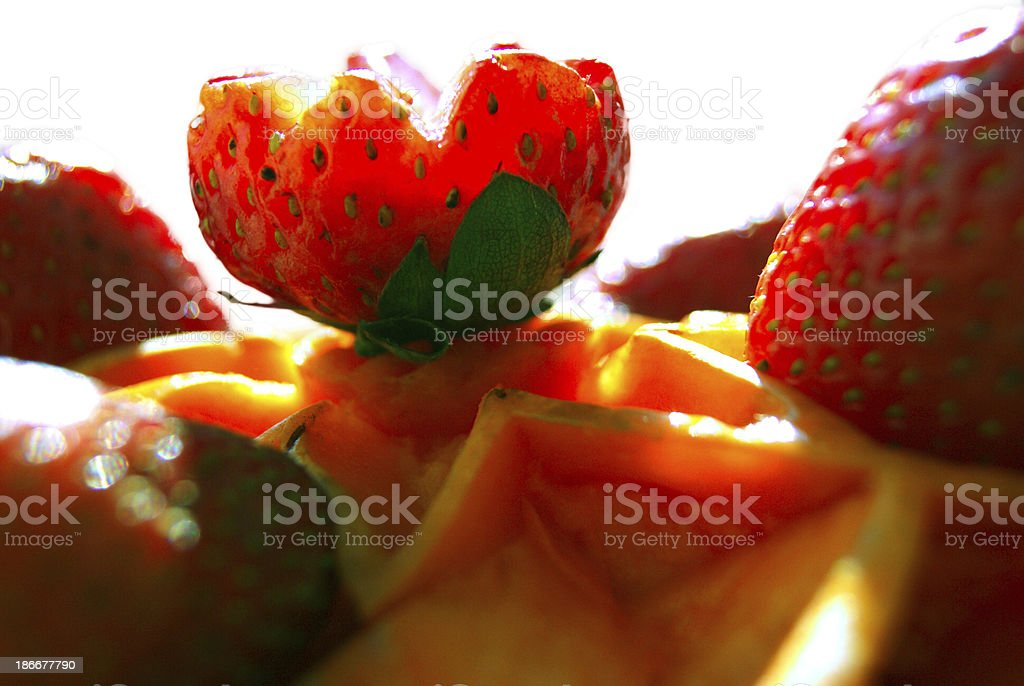 Fresas royalty-free stock photo