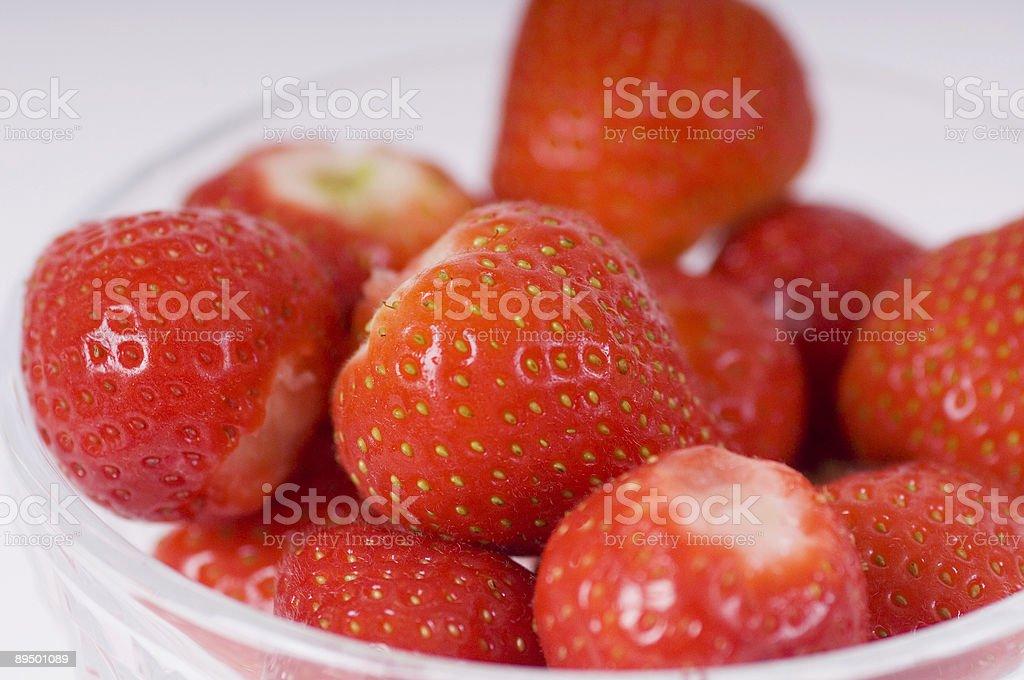 strawberries royalty free stockfoto