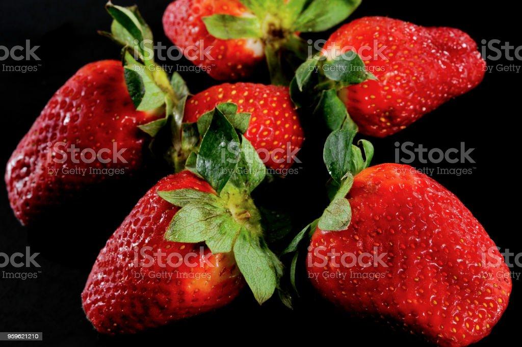 Fresas - Foto de stock de Alimento libre de derechos