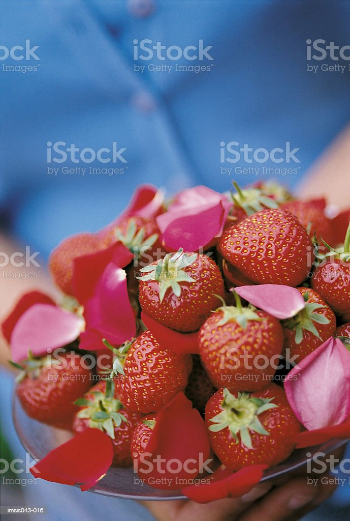 Strawberries royalty free stockfoto