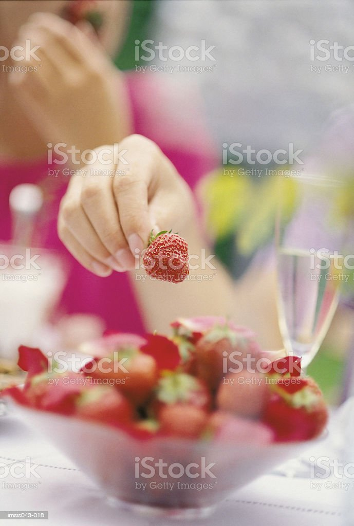 Strawberries 免版稅 stock photo