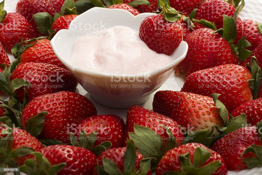 Strawberry Appetizer royalty-free stock photo