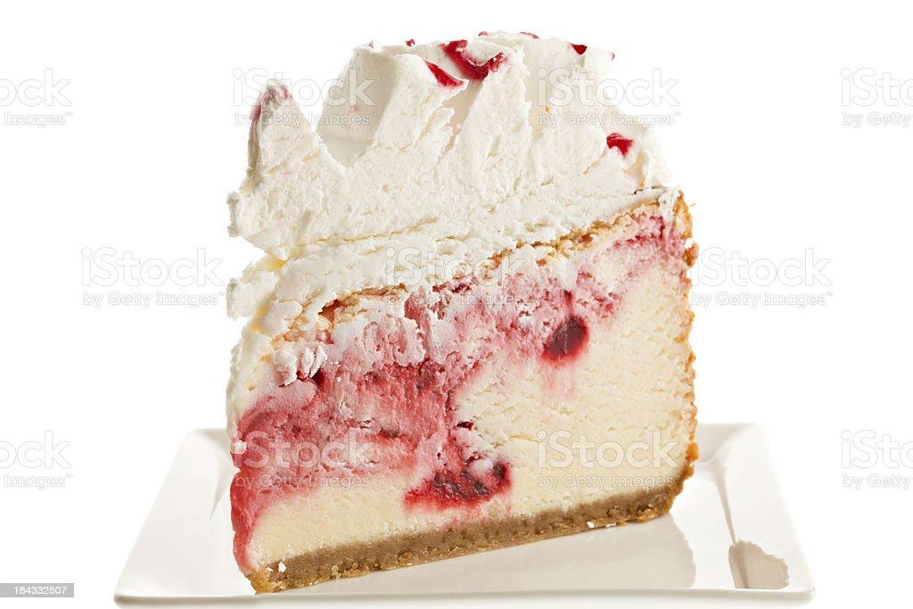 Strawberry Cheesecake royalty-free stock photo