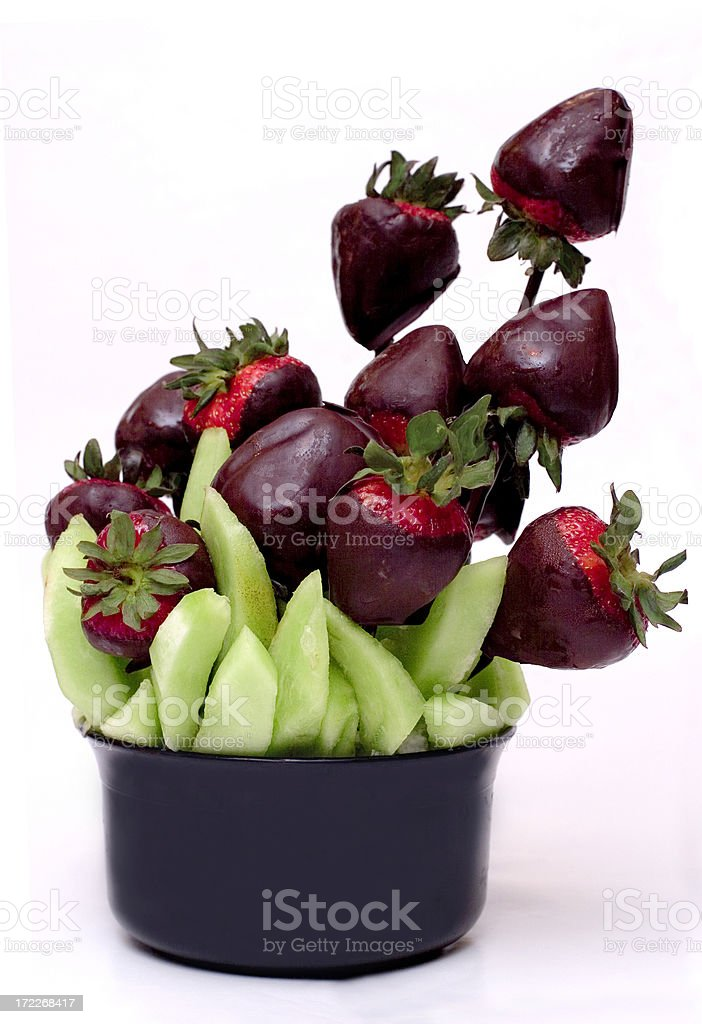 Strawberry Chocolate Bouquet royalty-free stock photo