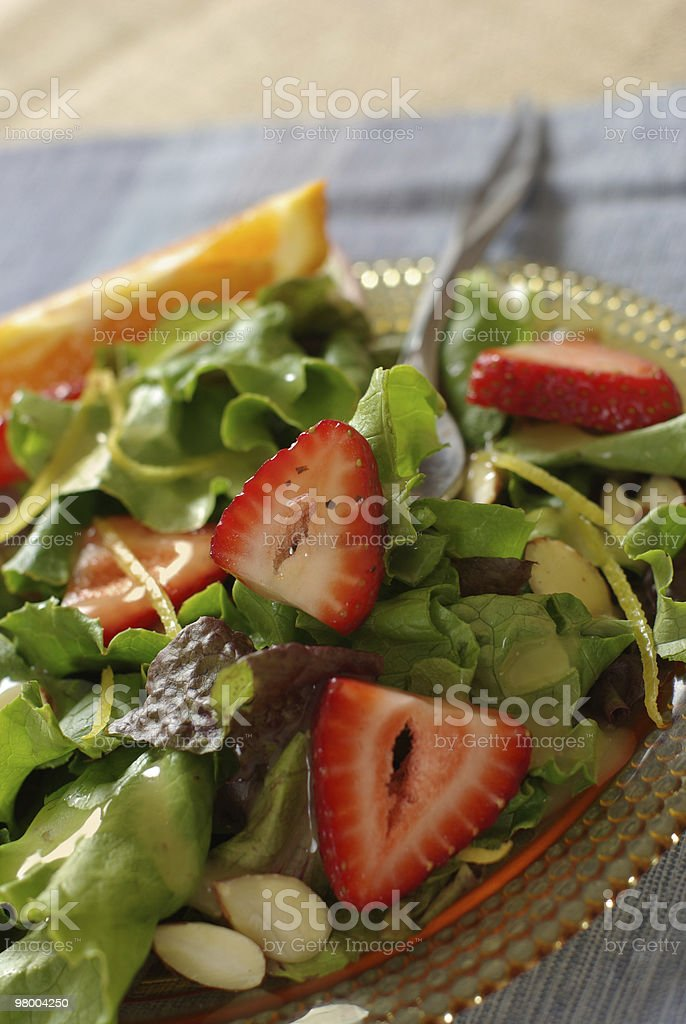 Strawberry / Citrus Salad royalty-free stock photo