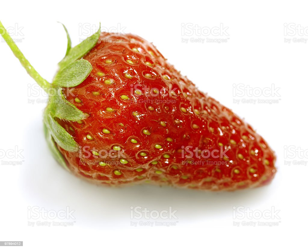 strawberry close up royalty-free stock photo