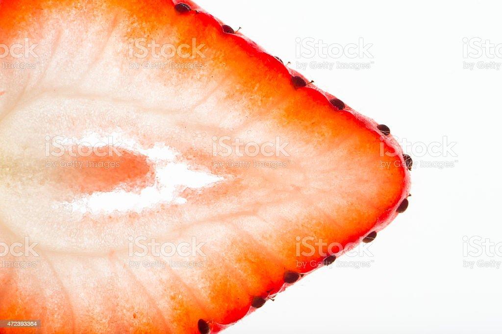 strawberry, detailed, macro stock photo