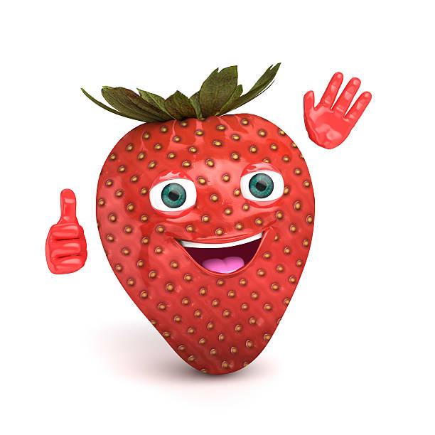 strawberry fruit stock photo