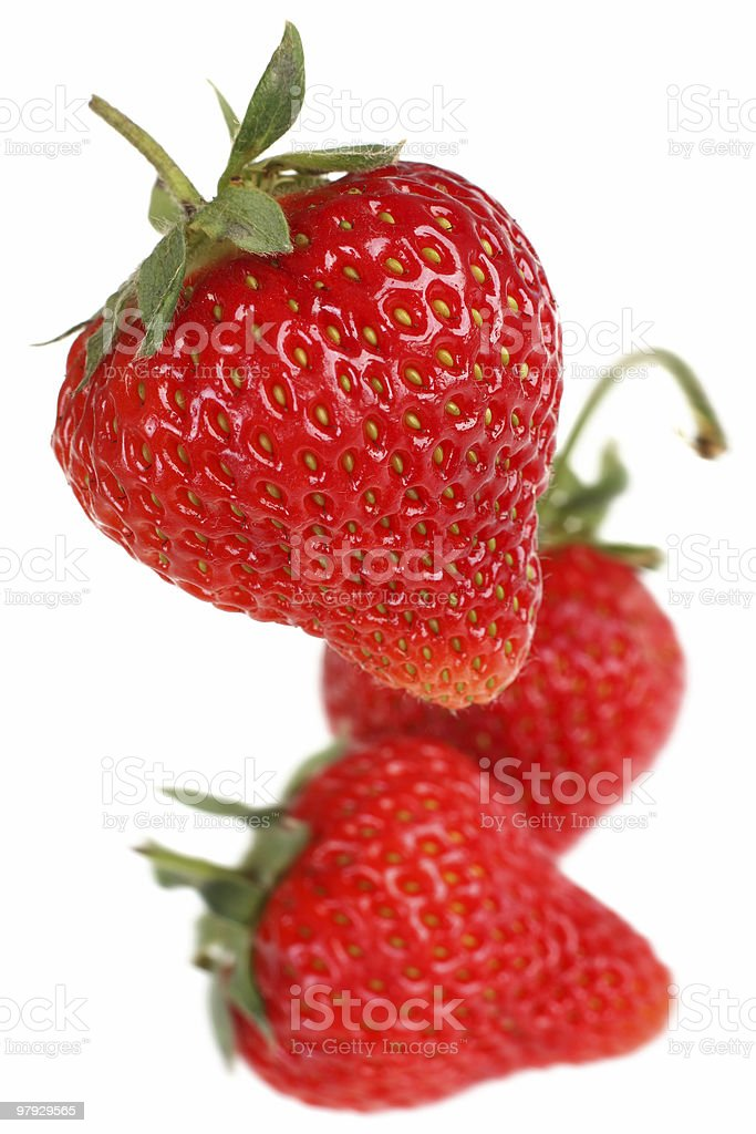 Strawberry fruit royalty-free stock photo