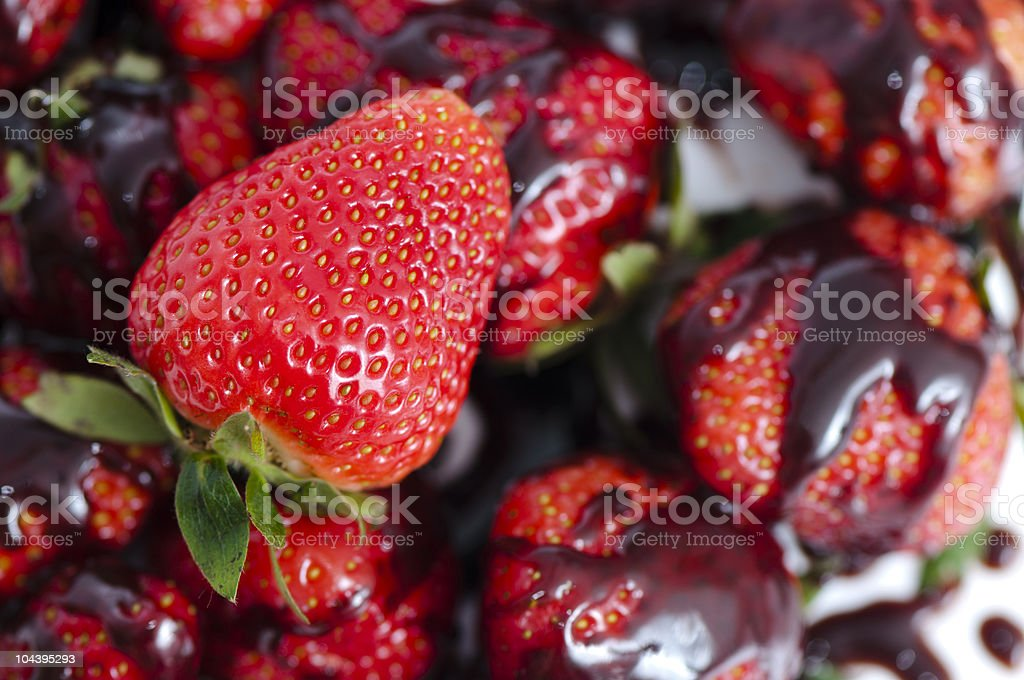 strawberry fruits royalty-free stock photo
